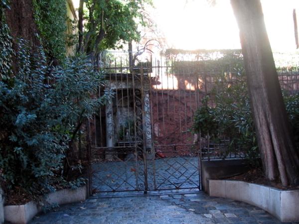 grille entrée Fragonard